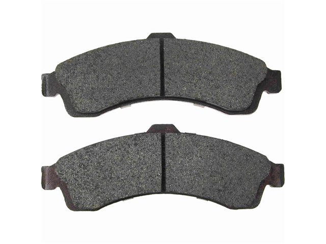D9882OSM OPparts Semi Met Brake Pad Set; Front