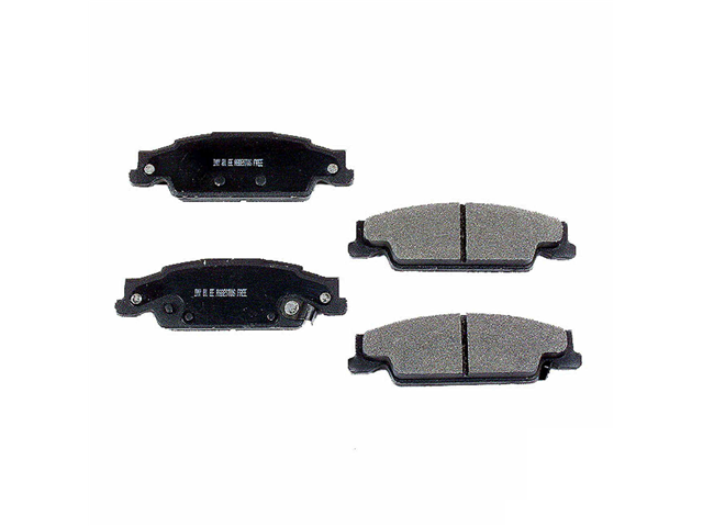 D9922SM Meyle Semi Metallic Brake Pad Set; Rear