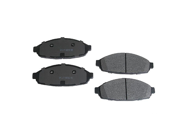 D9931SHD Meyle Heavy Duty Brake Pad Set; Front