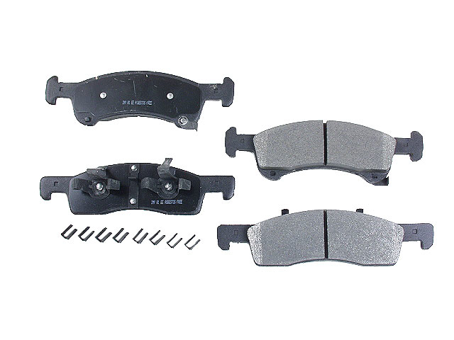 D9934SM Meyle Semi Metallic Brake Pad Set; Front