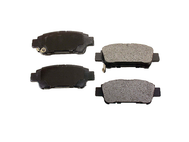 D995AD Advics Brake Pad Set; Rear