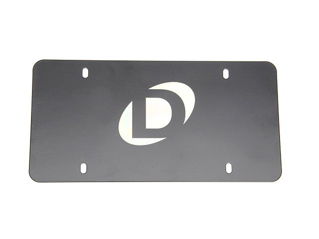 D010-0015 Dinan License Plate; Marque Plate
