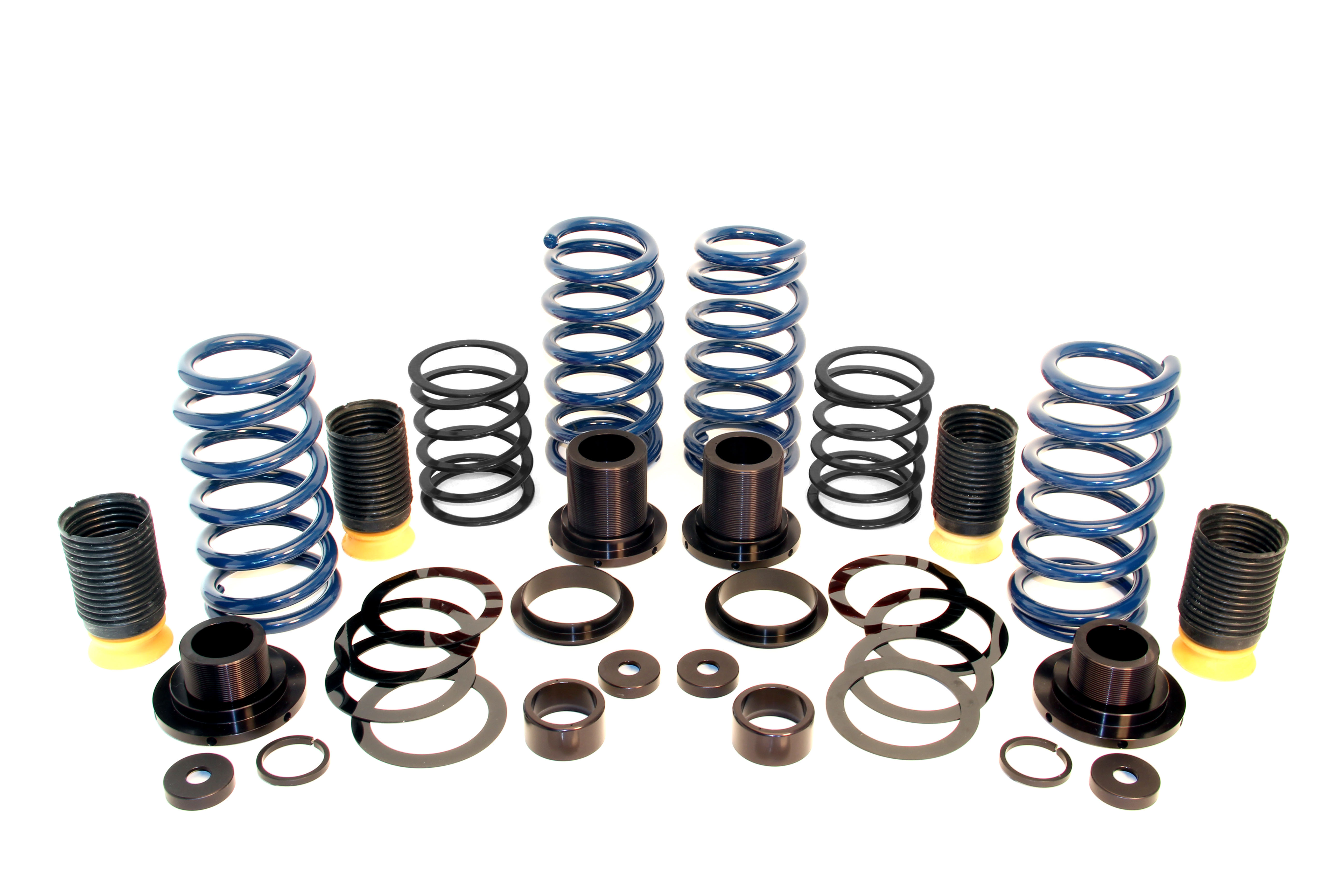 D190-1011 Dinan Coilover Adjustable Spring Lowering Kit; Coil-Over Suspension Kit
