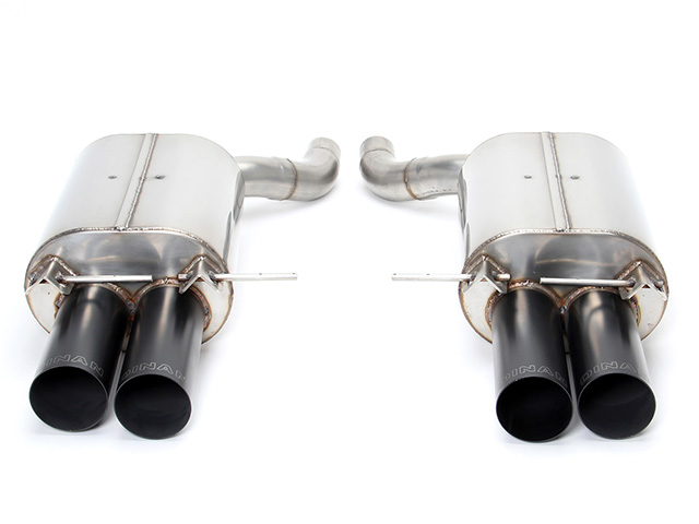 D660-0017-BLK Dinan Exhaust Muffler Kit; Performance Exhaust
