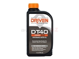 02406 DRIVEN Engine Oil; DT40 Street Performance; 5W-40 Synthetic; 1 Qt