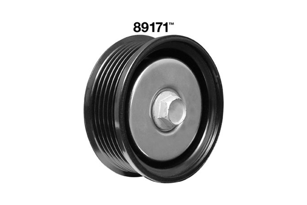 89171 Dayco Drive Belt Idler Pulley; Grooved Pulley