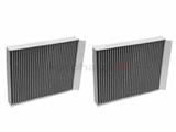 E2978LC2 Hengst Cabin Air Filter Set; SET of 2