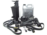 E46AT2COOLKIT O.E.M. Cooling System Service Kit; E46 Auto.Trans. thru 8/2002; 19 pc. Kit