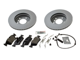 E46FTSMKIT AAZ Preferred Disc Brake Pad and Rotor Kit; Front Brake Kit
