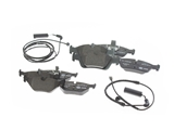 E46PADKIT AAZ Preferred Brake Pad Set; Front and Rear with Sensor; KIT