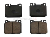 EUR1072 Akebono Euro Brake Pad Set