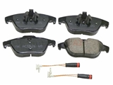 EUR1341 Akebono Euro Brake Pad Set; Rear