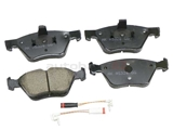 EUR853A Akebono Euro Brake Pad Set; Rear