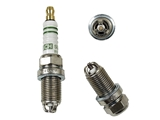 F6DTC Bosch Spark Plug; Copper; 3 Ground Electrode; OE Plug
