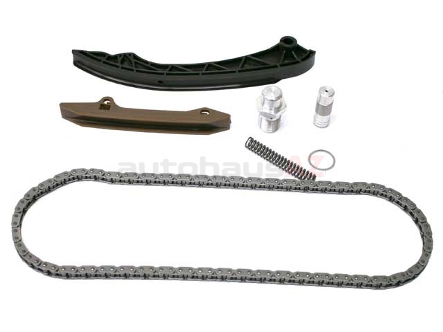 For BMW Timing Chain KIT w// Chain Rails Chain Tensioner+Tensioner Seal Ring Febi