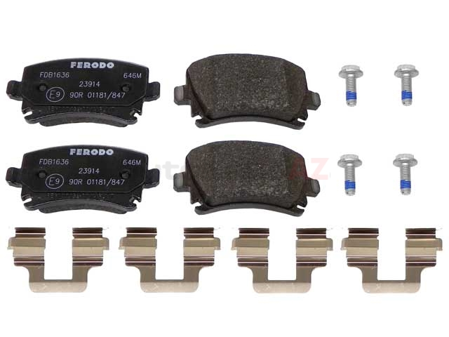 1K0698451K Ferodo Brake Pad Set