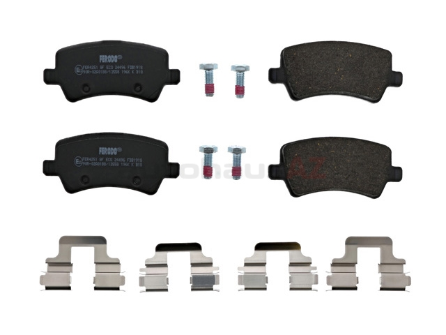 LR043285 Ferodo Brake Pad Set; Rear