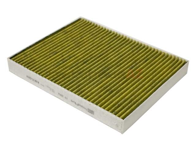 FP2842 Mann Frecious Plus Cabin Air Filter; Charcoal Activated Three Layer Design