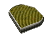 FP2897 Mann Frecious Plus Cabin Air Filter; Charcoal Activated Three Layer Design