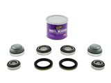 FTWHLBRGKIT AAZ Preferred Wheel Bearing Kit; Front Bearing Kits, Grease Cap and Grease; KIT