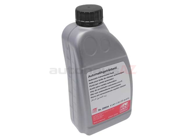 G055025A2 Febi-Bilstein ATF, Automatic Transmission Fluid; 1 Liter Bottle