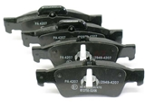 0074206720 Hella Pagid Brake Pad Set