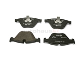 34116871557 Hella Pagid Brake Pad Set