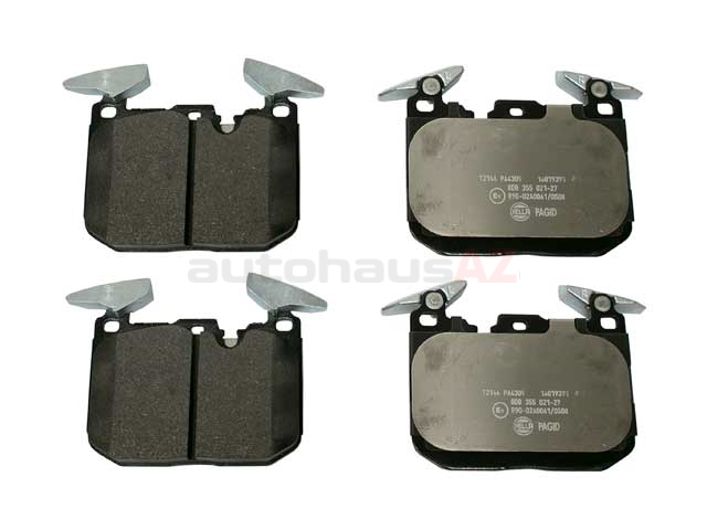 34116878876 Pagid Brake Pad Set; Front