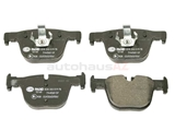 34206799813 Pagid Brake Pad Set