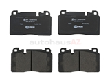8R0698151L Pagid Brake Pad Set; Front