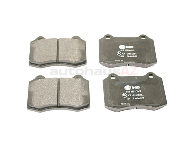 C2C24016 Hella Pagid Brake Pad Set