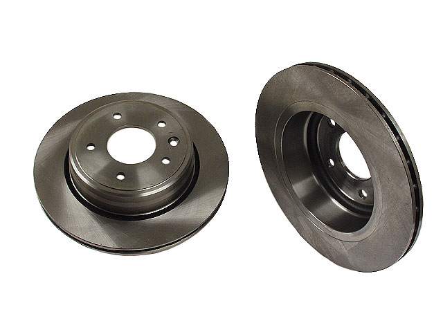 REAR Disc Brake Rotors-Vented OE Replacement Brembo 25485