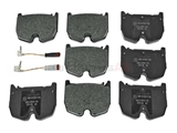 003420712041 Jurid Brake Pad Set; Front