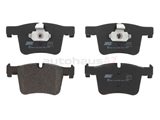 34106799801 Jurid Brake Pad Set; Front
