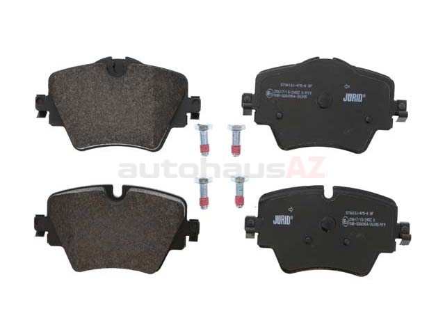 34106898307 Jurid Brake Pad Set; Front