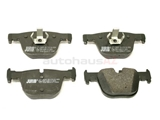 34206799813 Jurid Brake Pad Set