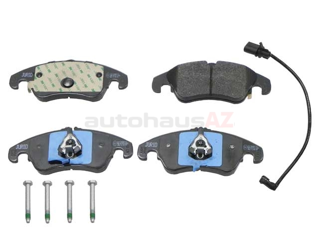 8K0698151J Jurid Brake Pad Set