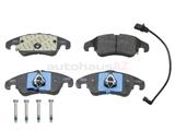 JU-8K0698151J Jurid Brake Pad Set