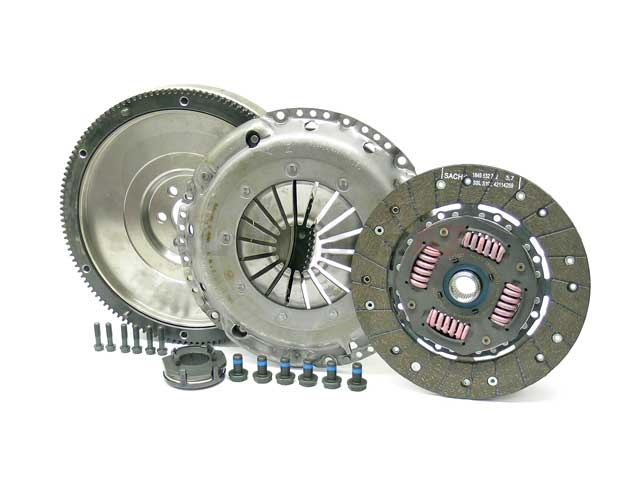 K7003802F Sachs Clutch and Flywheel Kit; Upgrade with New Solid Flywheel