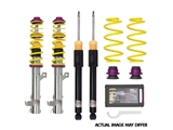 "102200BV KW Suspensions Coilover Spring and Shock Assembly; KW Variant 1 V1 ""inox line"""
