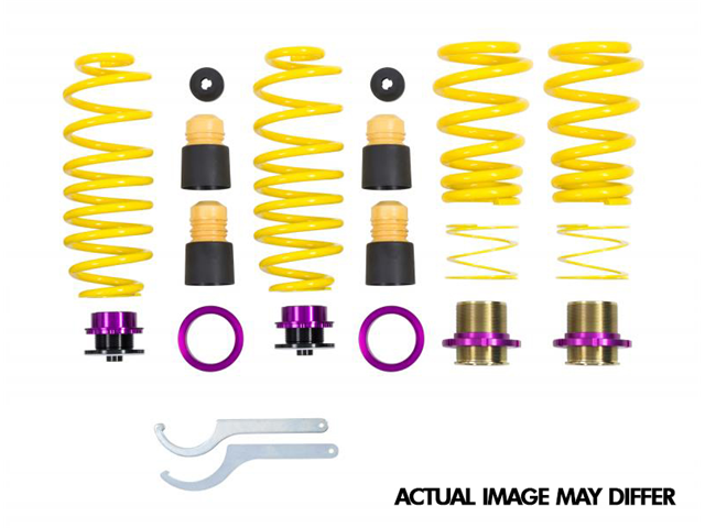 25320097 KW Suspensions Coilover Adjustable Spring Lowering Kit; Height Adjustable Spring Kit