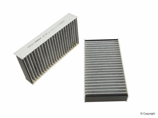 LAK878S Mahle Cabin Air Filter Set; In Blower Housing, SET of 2