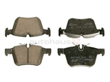 0004208200 Genuine Mercedes Brake Pad Set; Rear