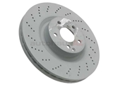 000421151207 Genuine Mercedes Disc Brake Rotor; Front; Left or Right