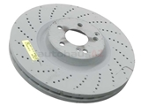 000421201207 Genuine Mercedes Disc Brake Rotor; Front