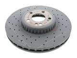 0004212212 Genuine Mercedes Disc Brake Rotor; Front