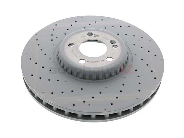 0004212312 Genuine Mercedes Disc Brake Rotor; Front