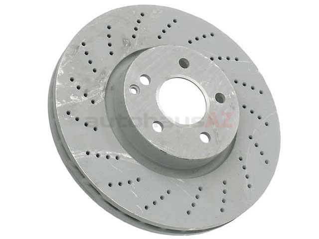 000421301207 Genuine Mercedes Disc Brake Rotor