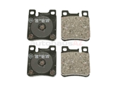 004420932041 Genuine Mercedes Brake Pad Set