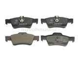 0074206820 Genuine Mercedes Brake Pad Set